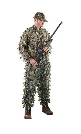 Shannon Outdoors 3D Field-Lite Whisper  Leaf Suit Obsession Camo 2XLarge 3XLarge  authentic online