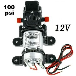 12v-DIAPHRAGM-FRESH-WATER-AUTOMATIC-PUMP-FOR-CAMPER-100psi-SELF-BUILD-12-VOLT