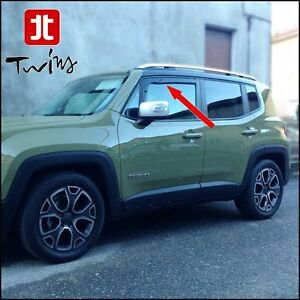 Tinted wind deflectors Air Jeep Renegade Since 2015 Also restyling