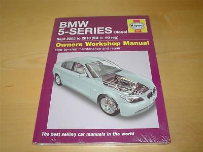 Haynes Workshop Manual BMW 5 Series E60 E61 Diesel 2003-2010 Service /& Repair