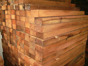JOB-LOT-RED-CEDAR-TIMBER-WOOD-WESTERN-RED-CEDAR-3-x-3-x-1-7-8-SAWN