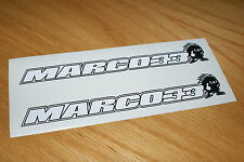 Marco Melandri Screen Stickers (Pair)