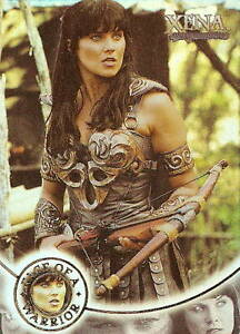 Xena-Season-4-and-5-W8-Face-of-a-Warrior-insert-card-Lucy-Lawless
