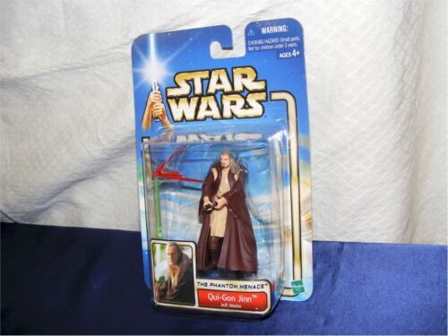 Star Wars qui gon jinn Jedi Master-The Phantom Menace OVP 2002