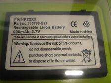 Batterie pour iPaq 310798-B21 311949-001 h2200 h2000 h2210 h2212e h2215 PE2051