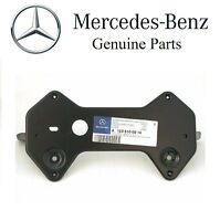 Mercedes W123 License Plate Mounting Bracket Front Number Mount Base Frame