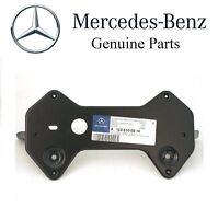 Mercedes W123 License Plate Mounting Bracket Front Number Mount Base Frame