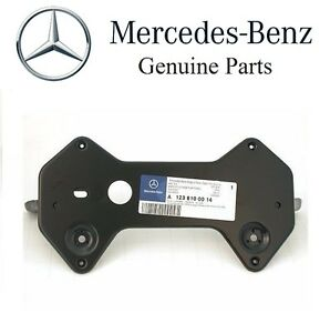 Details about For Mercedes W123 License Plate Mounting Bracket OEM Number  Mount Base Frame