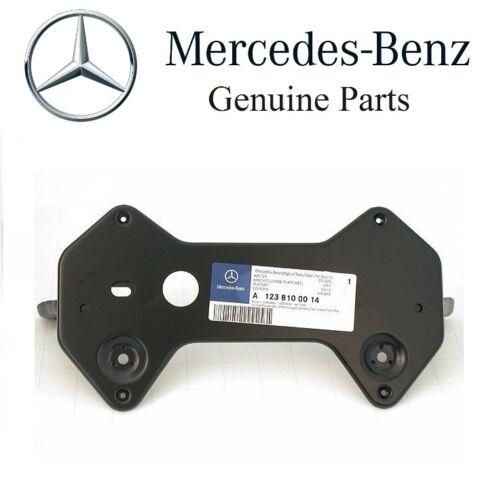 For Mercedes W123 License Plate Mounting Bracket OEM Number Mount Base Frame
