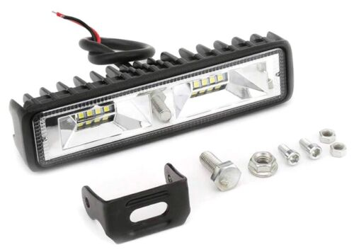 Led Light Bar 12v 24v Flood Spot Combo Beam Offroad Truck Work Lamp 72w 6/""