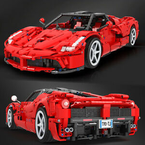 Technic-Hypercar-Car-Racecar-42056-42083-42110-42065-Building-Blocks-Bricks-MOC