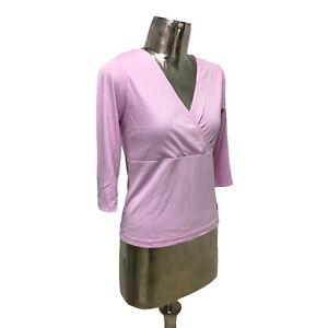 Emreco Top T-Shirt Begonia Pink UK M 12 (EU40) NEW Cotton Women's RRP £22