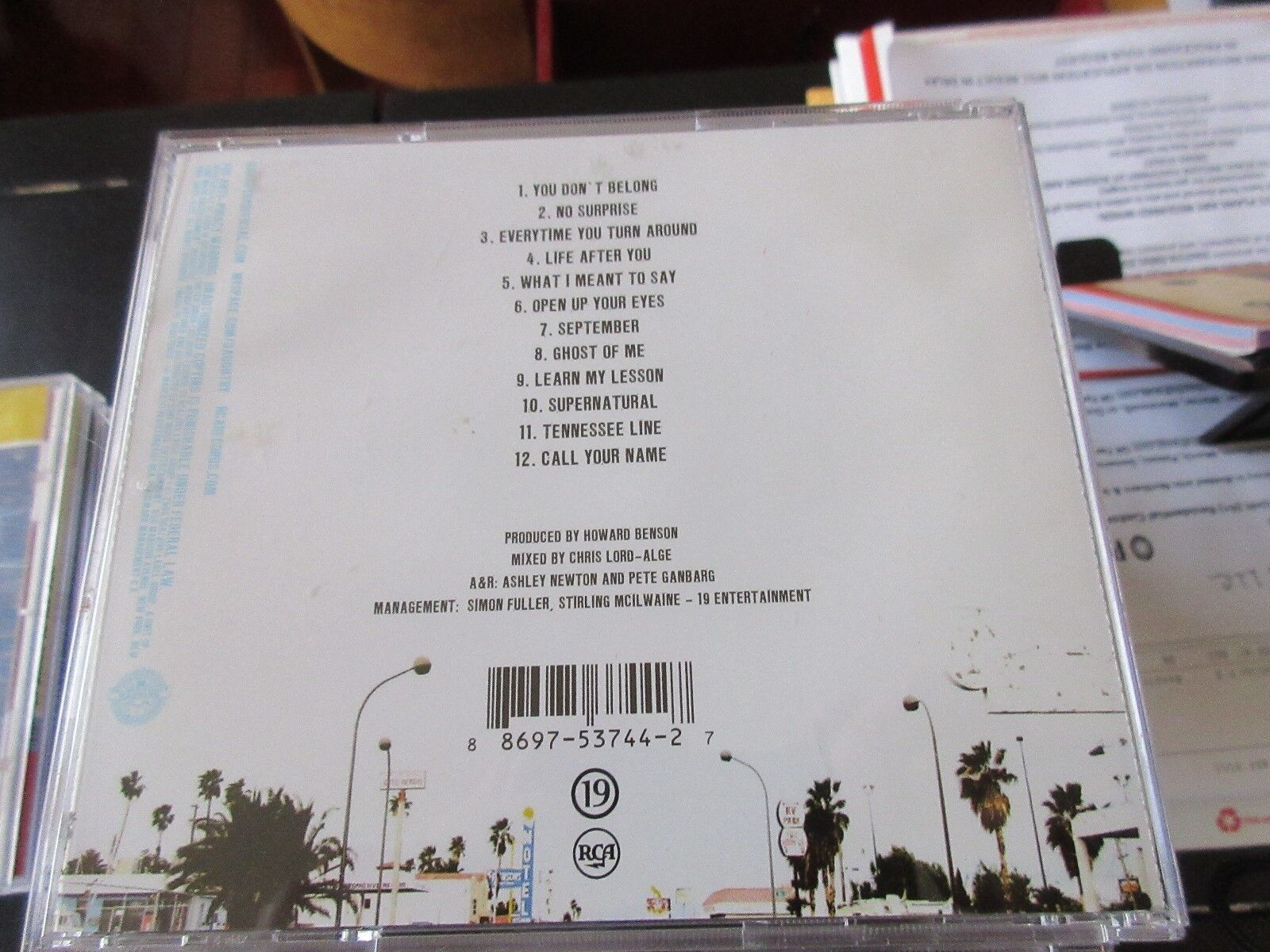 Daughtry , Leave This Town , CD
