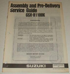 1989-SUZUKI-GSXR1100-GSXR-GSX-R-1100-PRE-DELIVERY-SERVICE-GUIDE-amp-WIRING-DIAGRAM