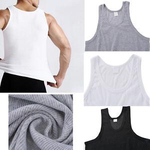 GS-1-Herren-Muskelshirt-Unterhemd-Weste-Armellos-T-Shirts-Tanktop-L-XL-XXL-XXXL