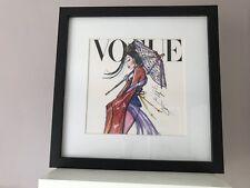 Disney Vogue Princess Framed Wall Art Picture Print 30x30cm - Mulan
