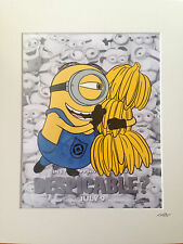 Despicable Me - Minions - Stuart -  Hand Drawn & Hand Painted Cel