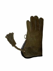 Children-Nubuck-Leather-Glove-Double-Skinned-Falconry-Child-Glove-Blackish-Brown