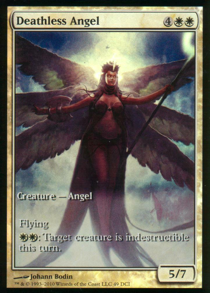 4x Deathless Angel FOIL   NM   Game Game Game Day Promos   Magic MTG 7f0da9