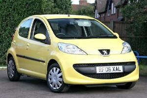 2006 peugeot 107 1.0 12v urban 5 door hatchback yellow | ebay