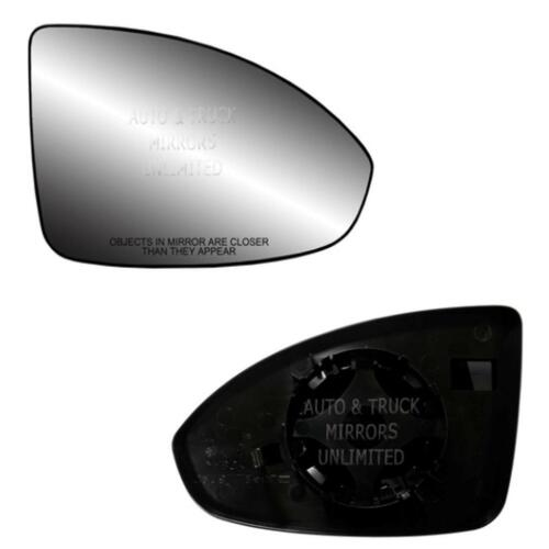 NEW Mirror Glass WITH BACKING CRUZE Passenger Right Side