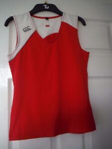 Canterbury-Ladie-039-s-sleevelees-top-Size-10