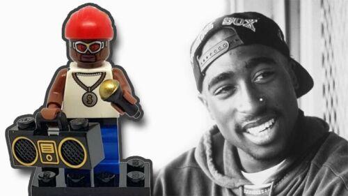 Tupac Shakur 2pac Makaveli Rapper Rap Custom Lego Minifigure Mug Unique Gift