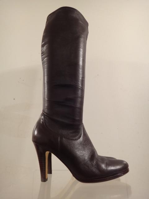 COLE HAAN Women's Dark Chocolate Chocolate Chocolate Leather 'Air Jolie' Knee-High Boots Size 9 B 03d273
