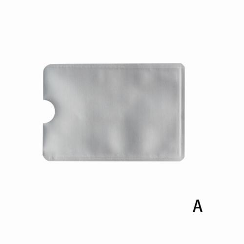 5*Kreditkarten-Passport-RFID-Schutzhülle Blocking Sleeve Shield Holder Secure ~.