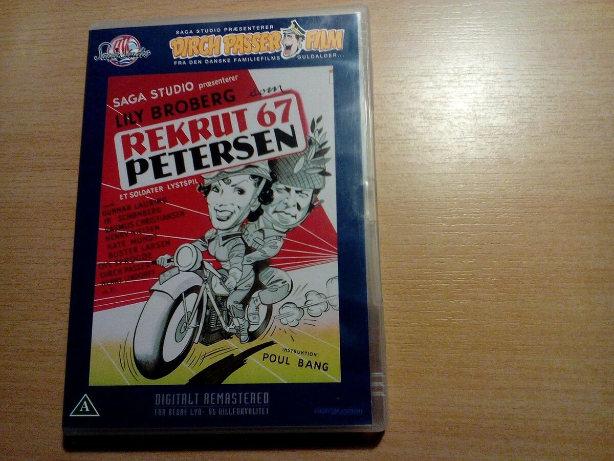 rekrut 67 petersen dvd