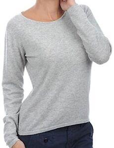 L veli 100 grigio cashmere girocollo Balldiri chiaro donna maglione 2 4qzx1P7