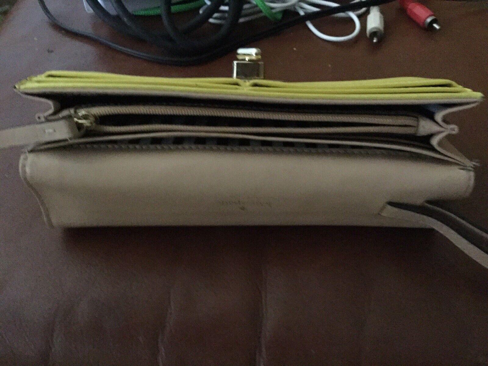 """Kate Spade Yellow Wallet 7 1/2"""" X 4 """""""