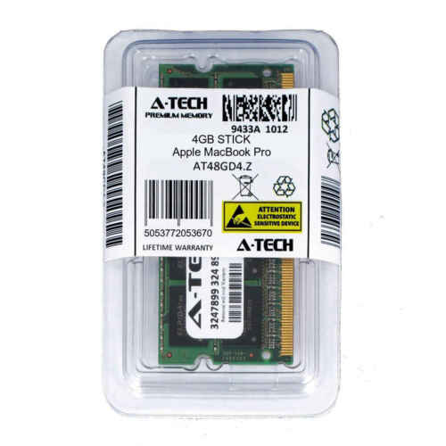 4GB SODIMM Apple MacBook Pro 2.9GHz Intel Core i7-13-inchMid-2012 Ram Memory