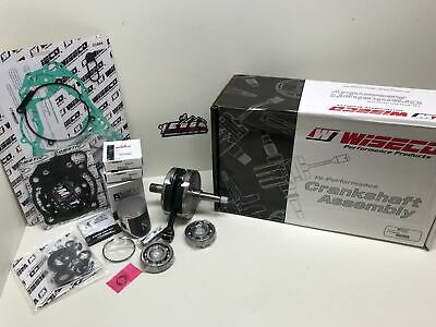 Kawasaki KX85 2011 Mitaka Engine Rebuild Kit Crank Piston Gaskets