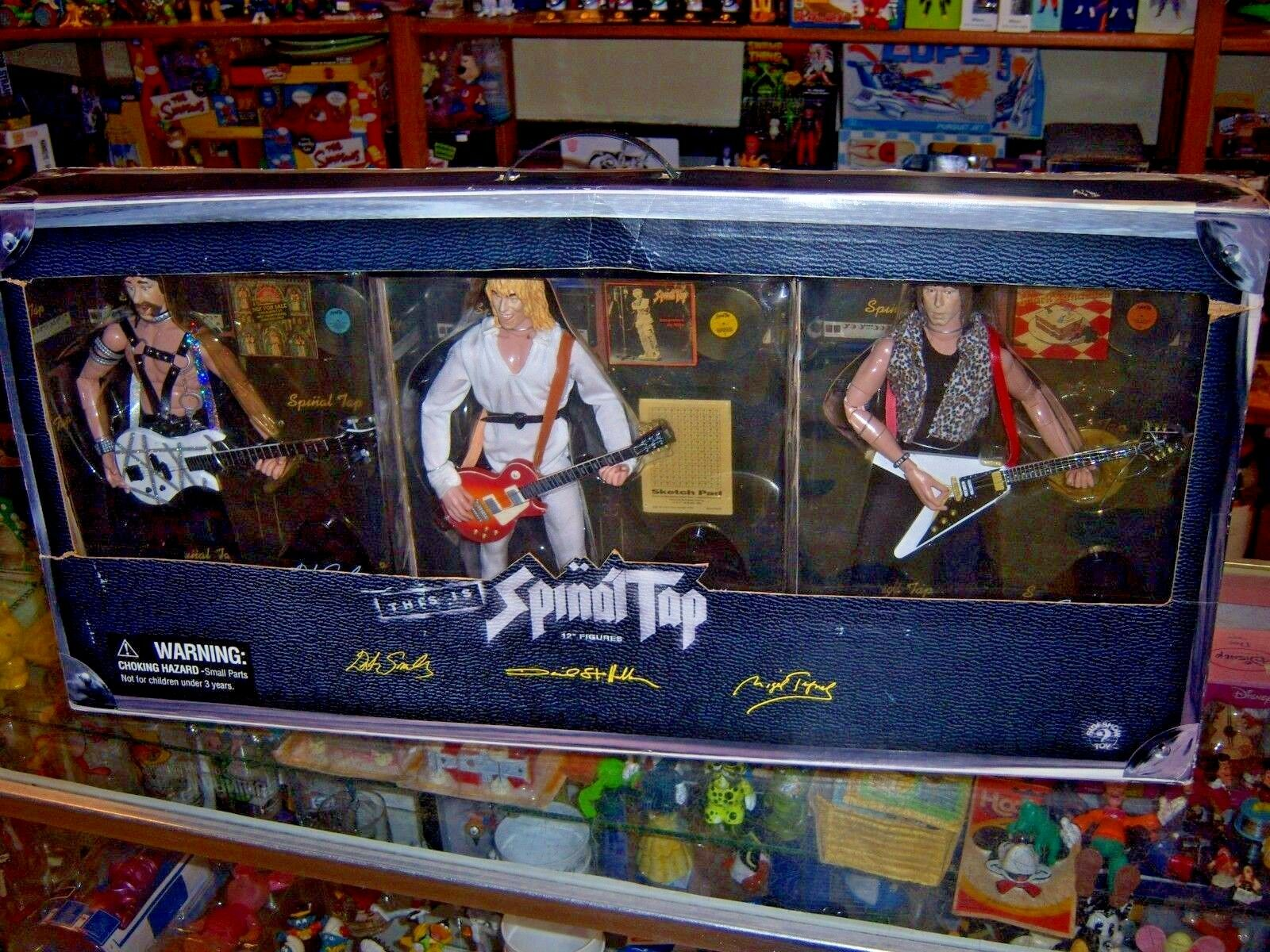 1;6 scale 12  This is Spinal Tap 3 figure set (MISB) Sideshow (2000)