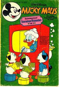 Micky Maus Nr. 19/1977 vom 7.5.1977 ohne Spiel- und Bastelteil - Walt Disney