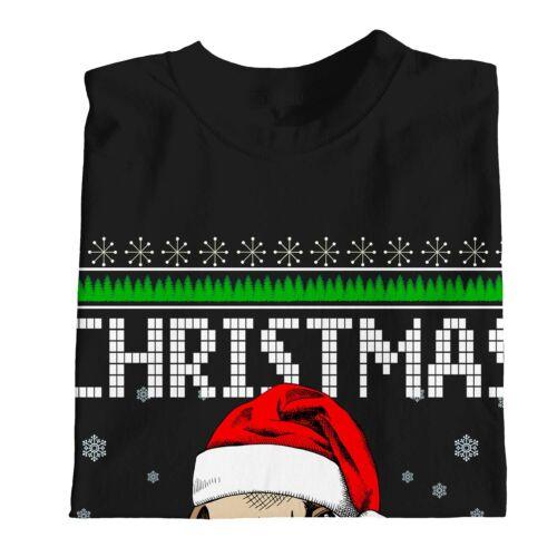 1Tee Kids Boys Pug Christmas T-Shirt