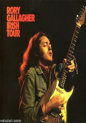 Rory Gallagher-Irish Tour Poster Print-A3 Size