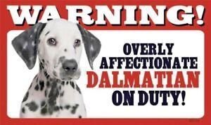 Warning Overly Affectionate Miniature Pinscher On Duty Wall Sign Min Pin Dog