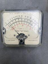 Heathkit Simpson Analog Panel Volt Meter Model V1 Vacuum Tube
