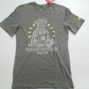 KD T Shirt Nike Men KD Kevin Durant Easy Money T-Shirt - 689186 - Gray 037 ...