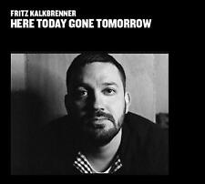 FRITZ KALKBRENNER = here today gone tomorrow = CD =DEEP HOUSE MINIMAL TECH HOUSE