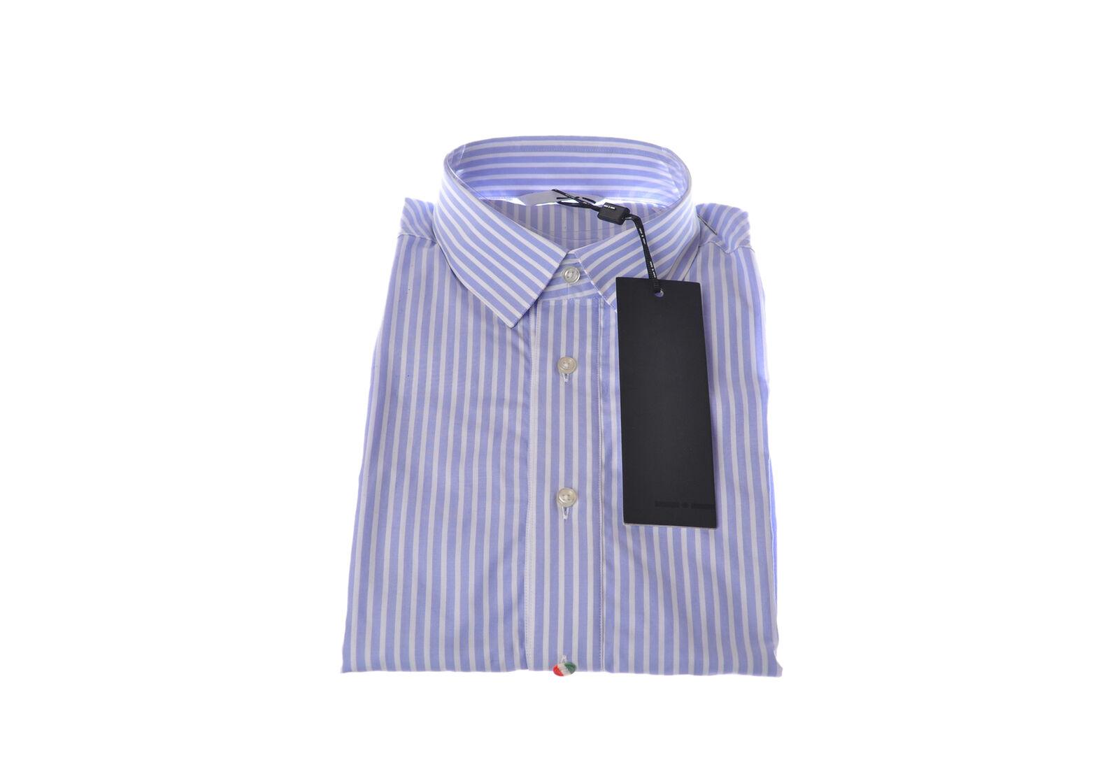 Italian Indipendent  -  Shirt - Male - Blau - 2988804A184045