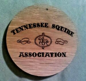 Tennessee-Squire-Jack-Daniels-Whiskey-Wood-Barrel-Coaster-4-034-Diameter-x-1-4-034