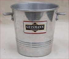 French Aluminum Magnum Champagne Ice Bucket Cooler Geismann
