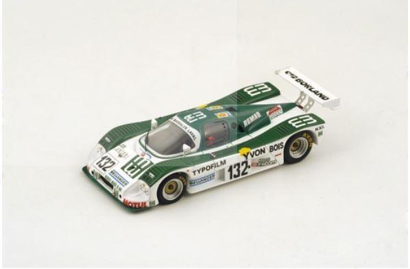Sauber C6 - R. Bassaler J. F. Yvon R. Pochauvin - 24h Le Mans 1988  132 - Spark
