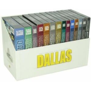 Dallas-The-Complete-TV-Series-Season-1-14-DVD-Plus-3-Movies-Box-Set-NEW-SEALED