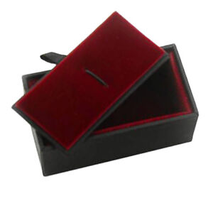 Details About Red Velvet Gift Box For Men Tie Clip Collar Pin Xmas Birthday Jewelry Gift