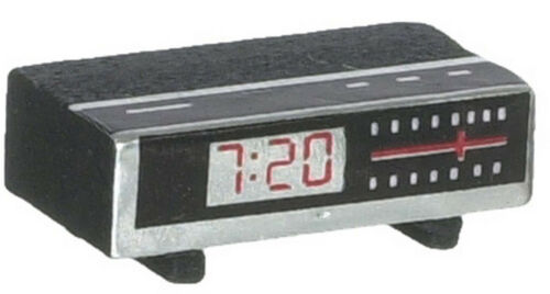 1//12 Scale Clock Radio Dollhouse Miniature