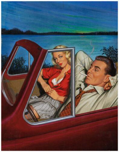 "Vintage Illustration Reno Tramp 11 x 14/""  Photo Print"